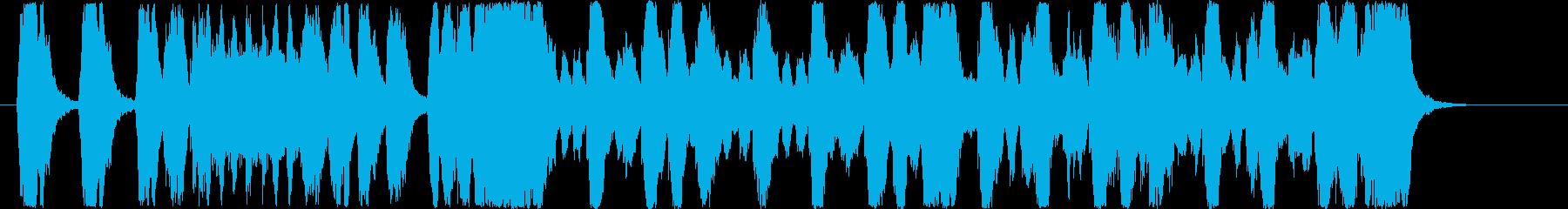 「交響曲第9番 新世界より」ドボルザークの再生済みの波形