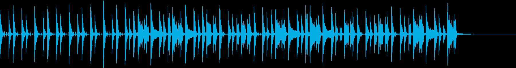 クラビネット、レトロポップなオープニングの再生済みの波形