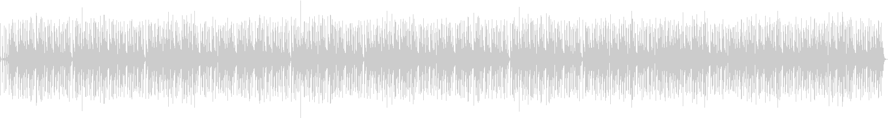 バンドサウンドのお洒落なジャズBGMの未再生の波形