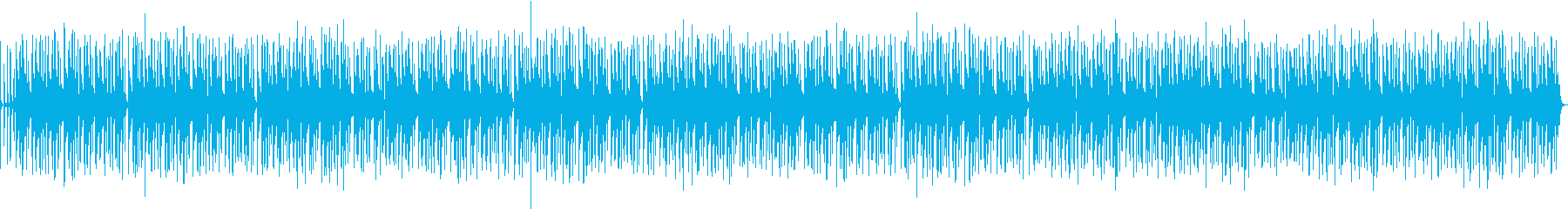 バンドサウンドのお洒落なジャズBGMの再生済みの波形