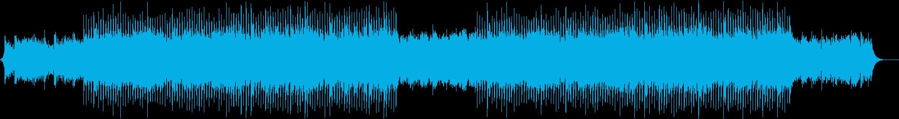 CM企業VPなどのオープニング系BGMの再生済みの波形