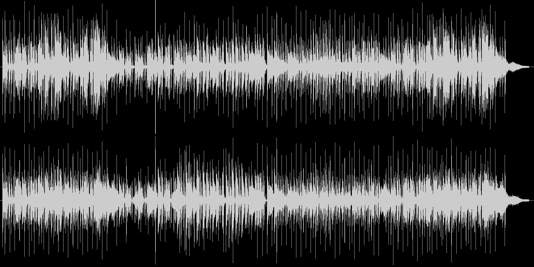 コンパクトな朝の未再生の波形