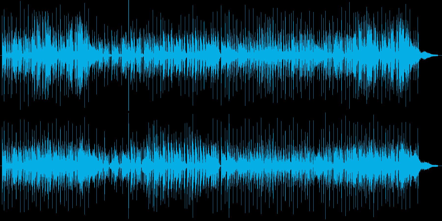 コンパクトな朝の再生済みの波形