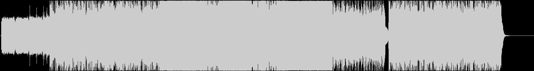 ロック系 攻撃的なファンクロック!の未再生の波形