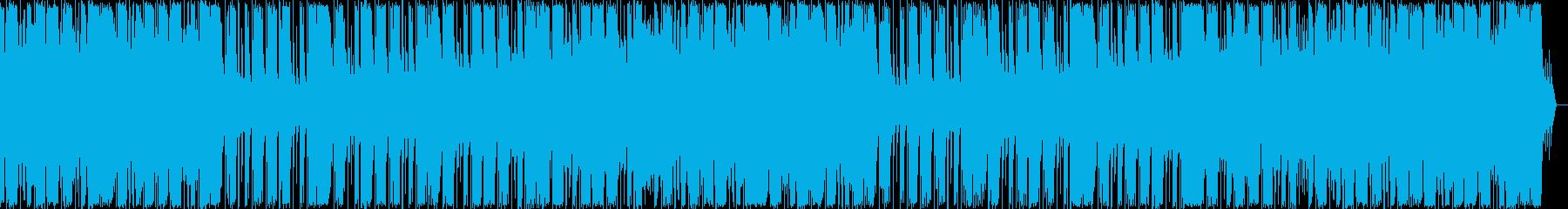 テンションヒップホップのテーマ。ボ...の再生済みの波形