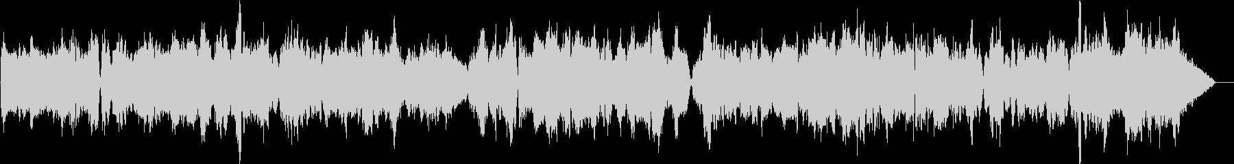 教会に響き渡るバイオリン独奏曲7の未再生の波形