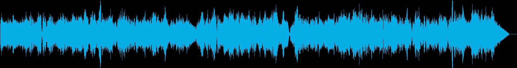 教会に響き渡るバイオリン独奏曲7の再生済みの波形