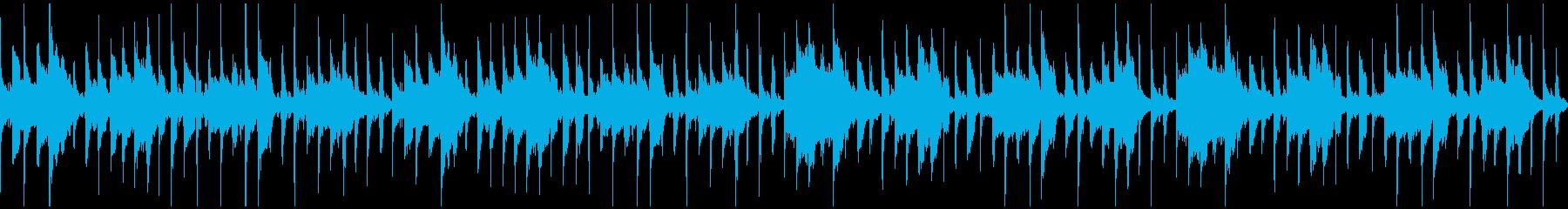 ほのぼの笛メロディのBGM(ループ)の再生済みの波形