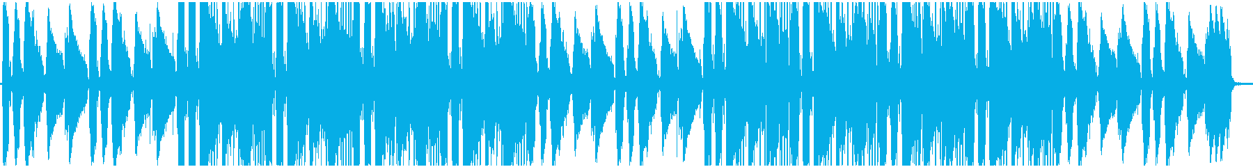ギターメインのLo-Fi Hip Hopの再生済みの波形
