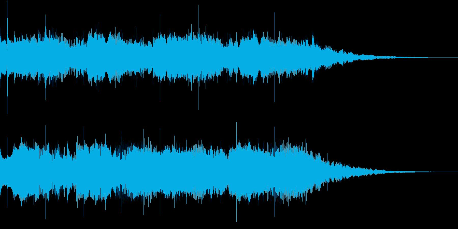 アンビエントなギタージングルの再生済みの波形