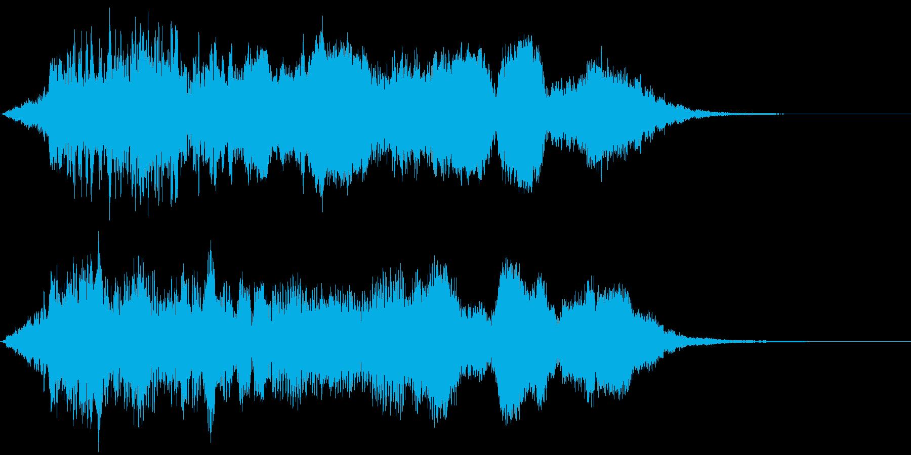 【ホラー】SFX_50 絶望の再生済みの波形