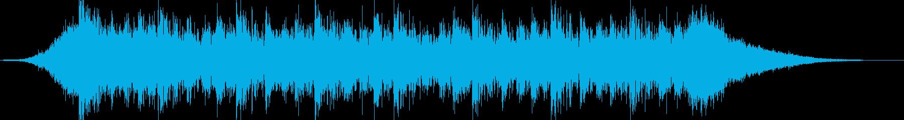企業VPや映像36、壮大、オーケストラcの再生済みの波形