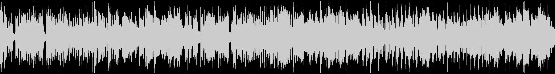 ゆるい脱力リコーダーのブルース※ループ版の未再生の波形