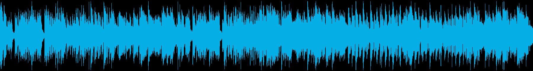 ゆるい脱力リコーダーのブルース※ループ版の再生済みの波形