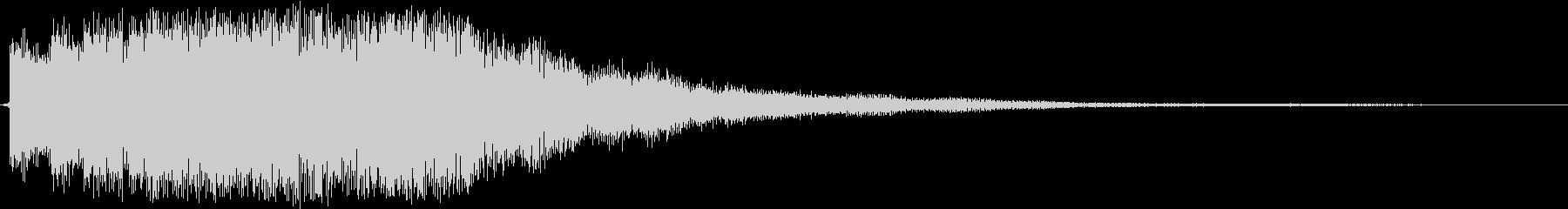 連続したベルの音の未再生の波形