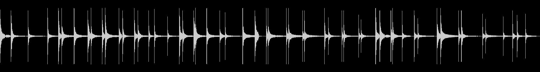 映画 スローなピアノ ドキュメンタリー の未再生の波形