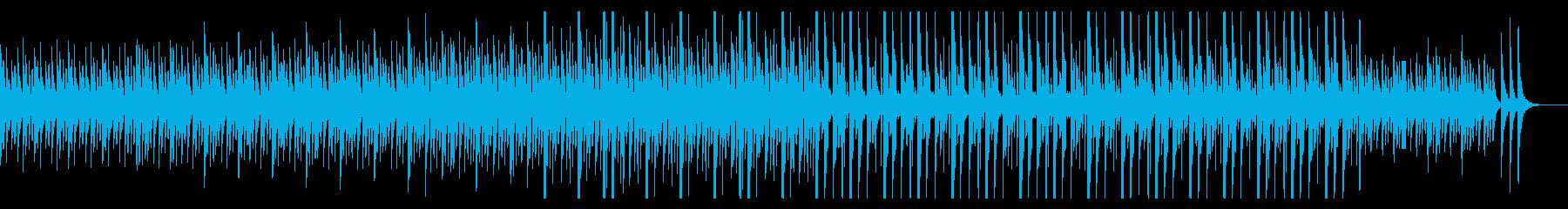独特なリズムで可愛いらしいメロディーの再生済みの波形