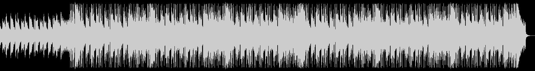 ピアノ中心の明るく爽やかなバンドBGMの未再生の波形