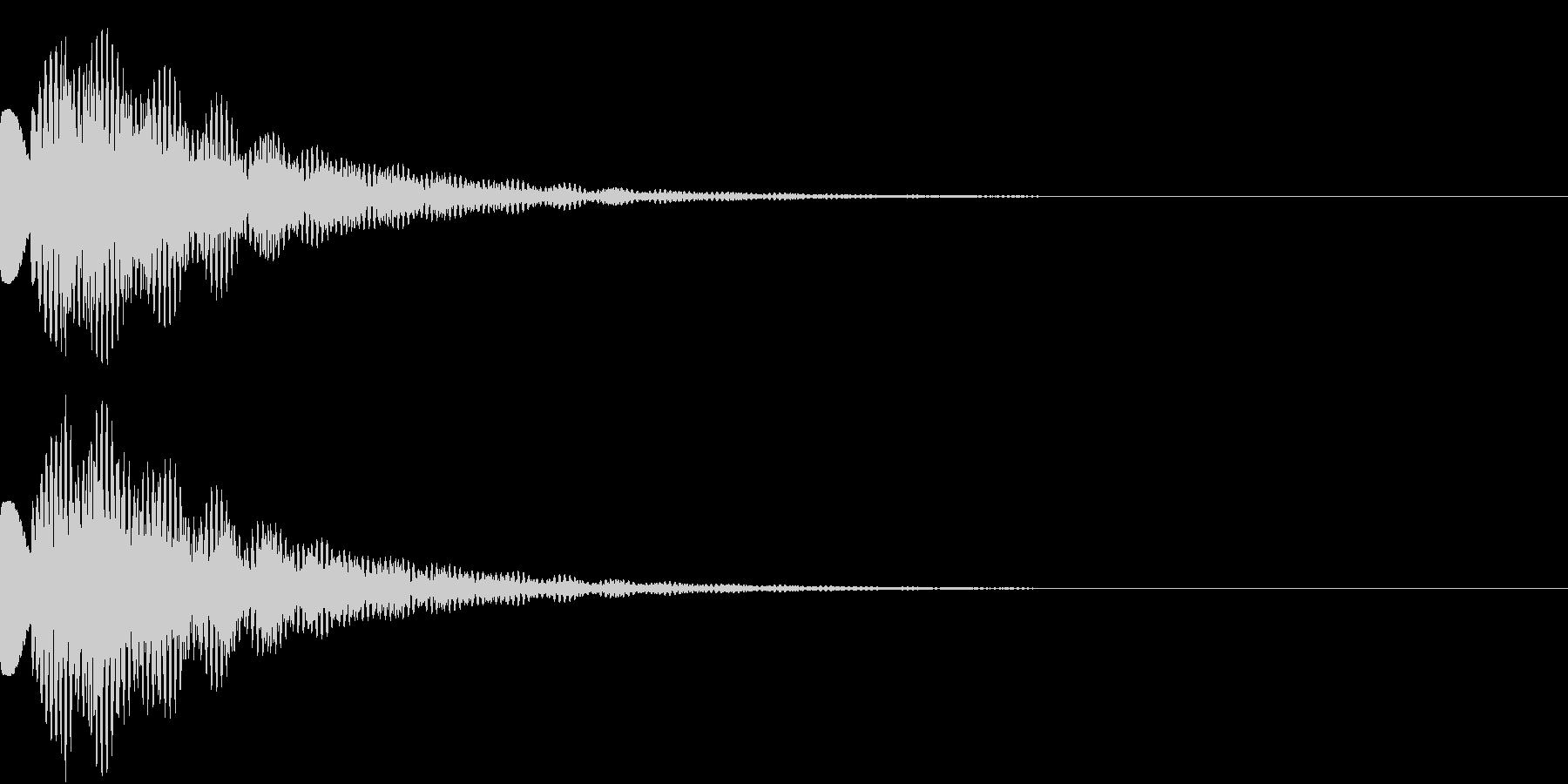 ピラリーンの未再生の波形