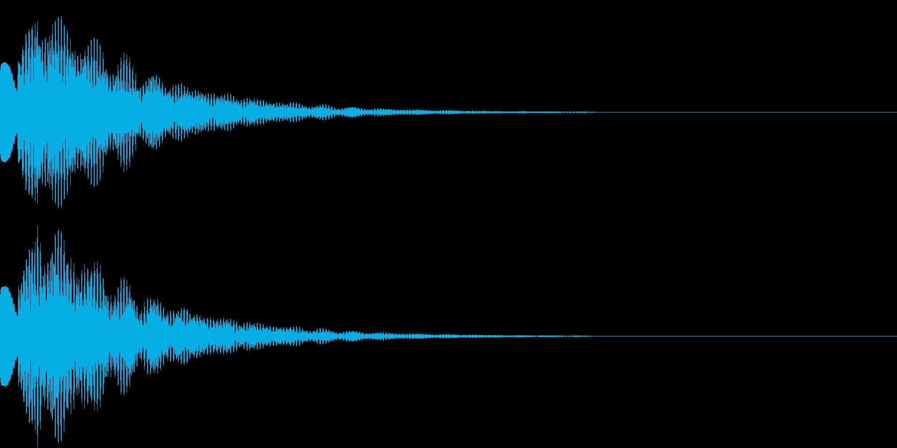 ピラリーンの再生済みの波形