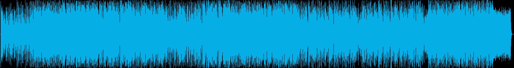 ディズニーエレクトリカルパレード的な曲の再生済みの波形