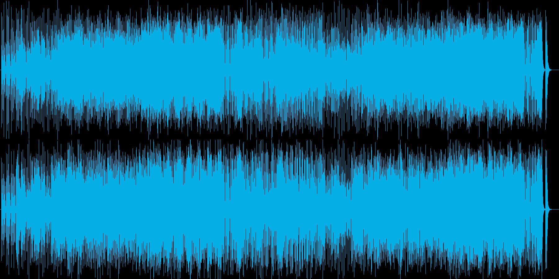 バンドとチンドン屋によるお囃子ロックの再生済みの波形