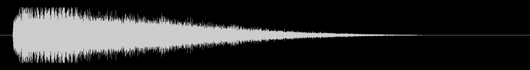 レーザー音-102-3の未再生の波形
