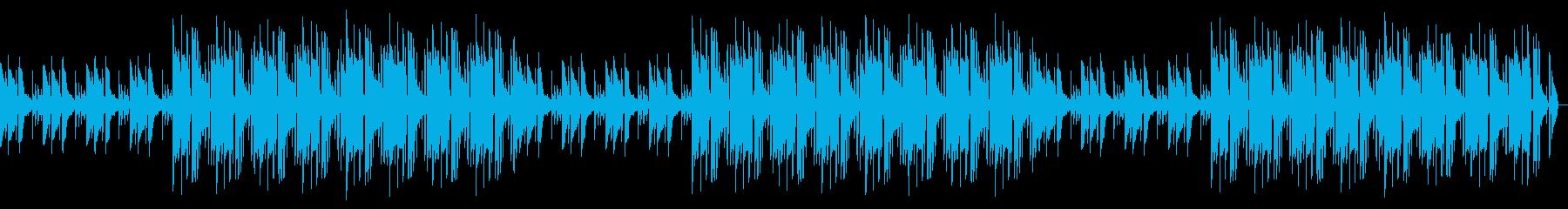 チルなアコースティックギタービートの再生済みの波形