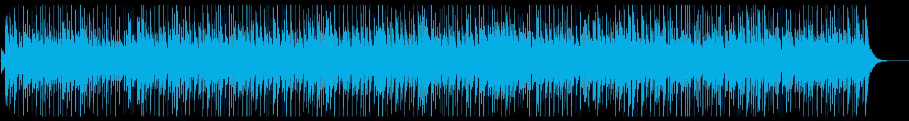 荒野を彷徨うかのような雰囲気のBGMの再生済みの波形