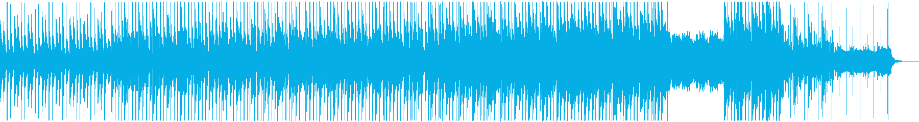 ハードなシンセサウンドとディープなビートの再生済みの波形