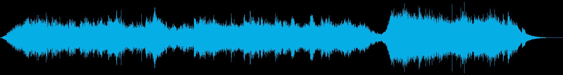 神秘感・浮遊感の漂うアンビエントの再生済みの波形