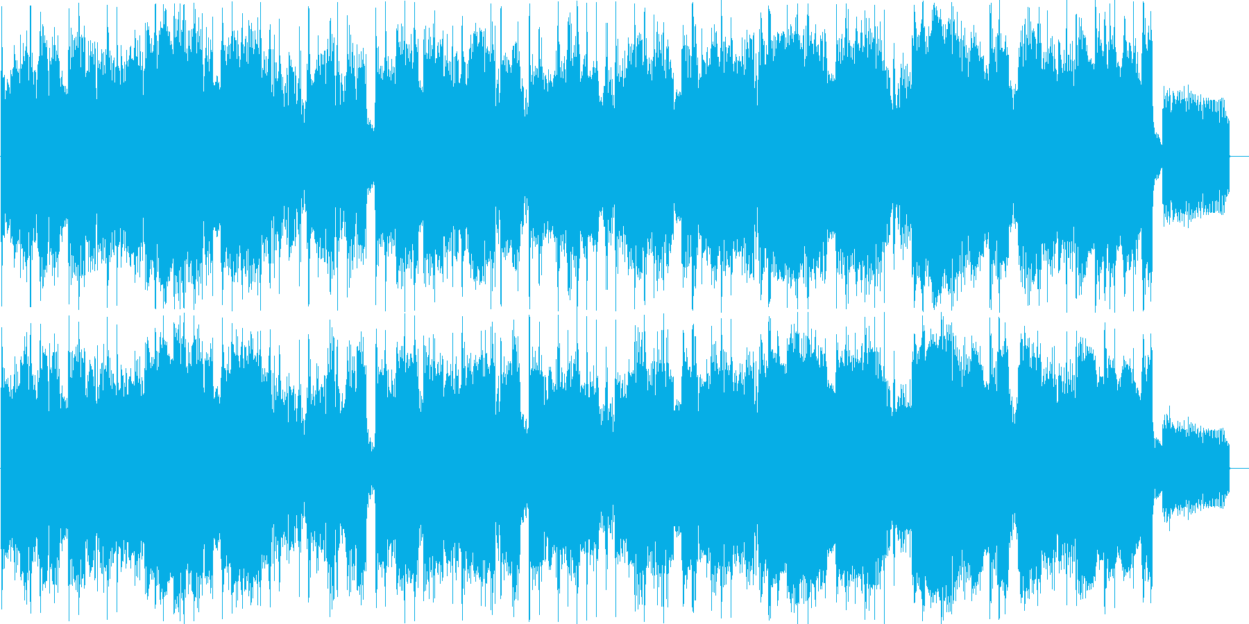ほのぼのオシャレなイージーリスニングの再生済みの波形