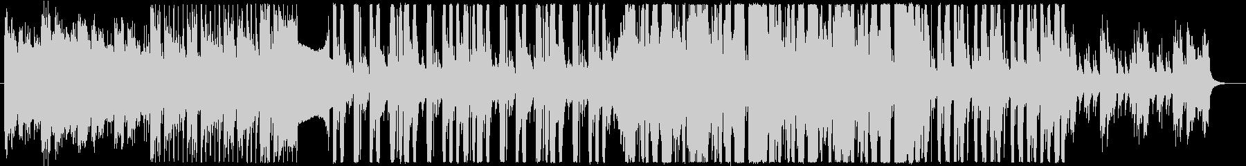 幾何学的なピアノと近未来クラブサウンドbの未再生の波形