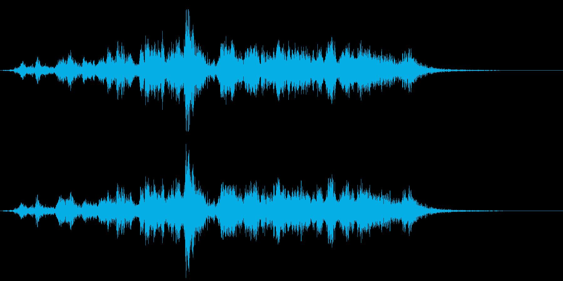 メタル ゲートオープンロング01の再生済みの波形
