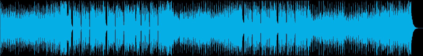 クールなFuture Bass Vo無の再生済みの波形