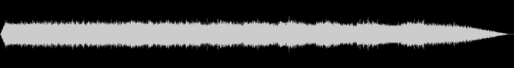 【自然音】ミンミンゼミの鳴き声の未再生の波形