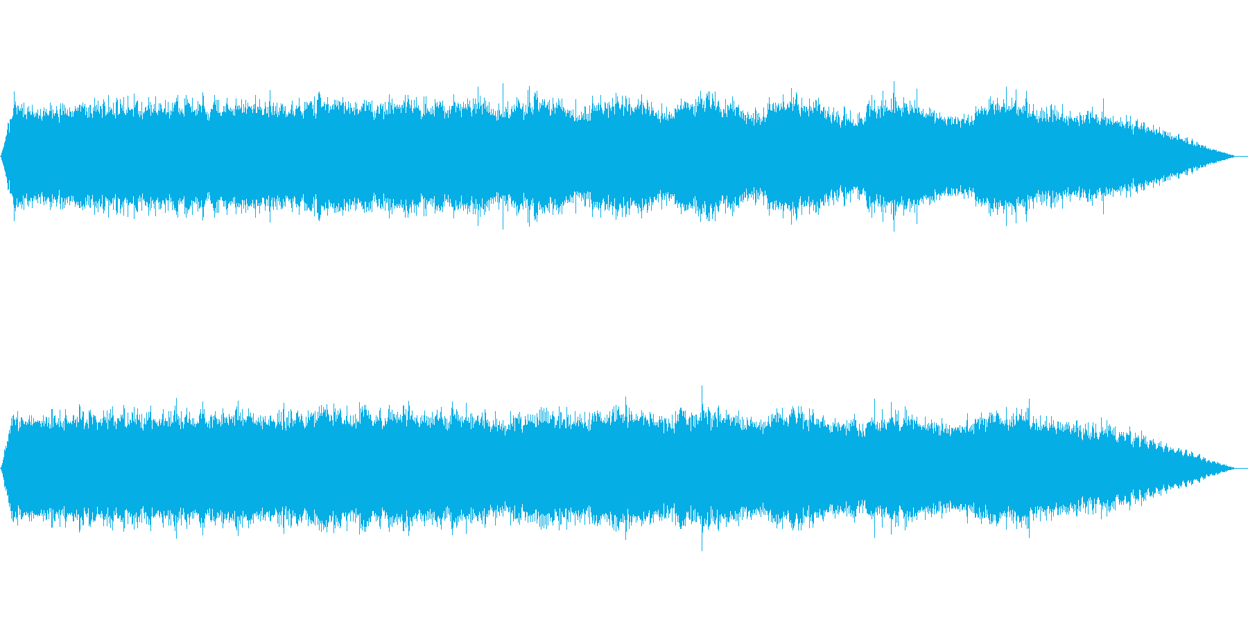 【自然音】ミンミンゼミの鳴き声の再生済みの波形