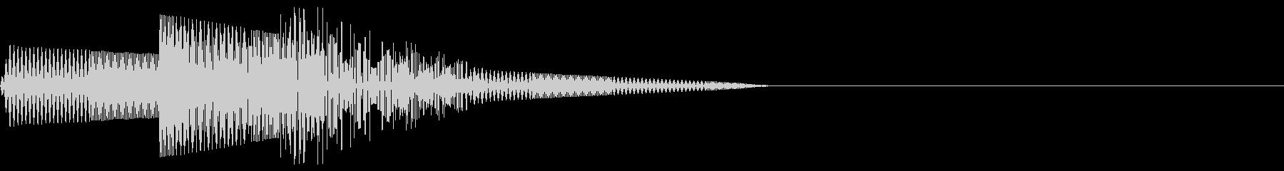 ピコン(選択/魔法/ファミコン/ピコピコの未再生の波形