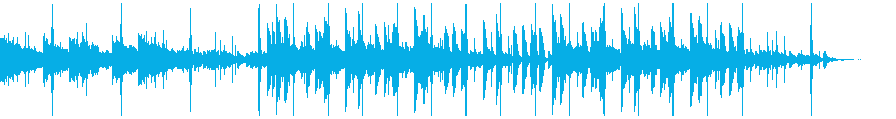 ドラムが印象的なネオソウルの再生済みの波形