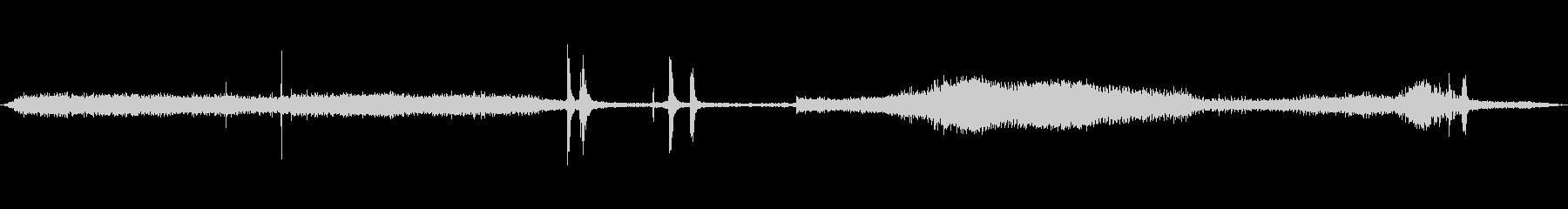 複数の穴、複数の穴あけドリル電動ドリルの未再生の波形