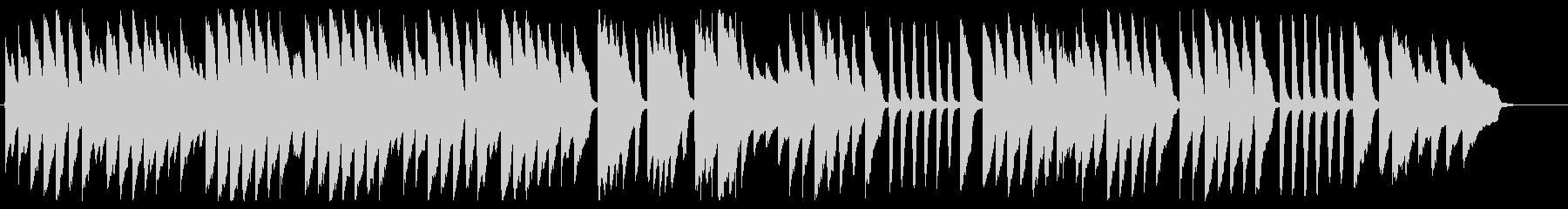 キラキラ星 ピアノver.の未再生の波形