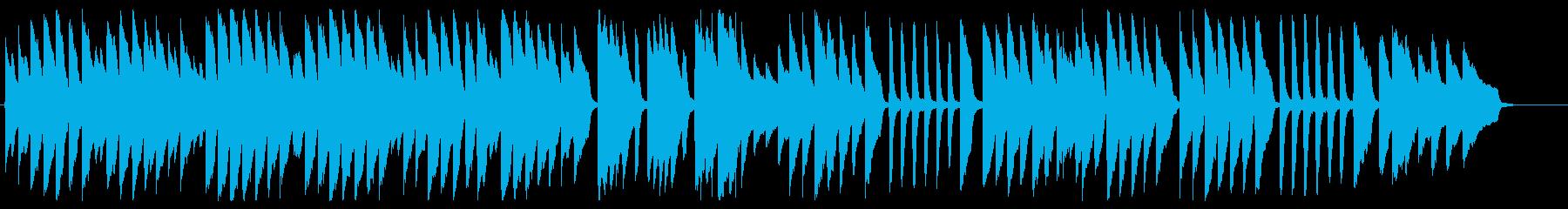 キラキラ星 ピアノver.の再生済みの波形
