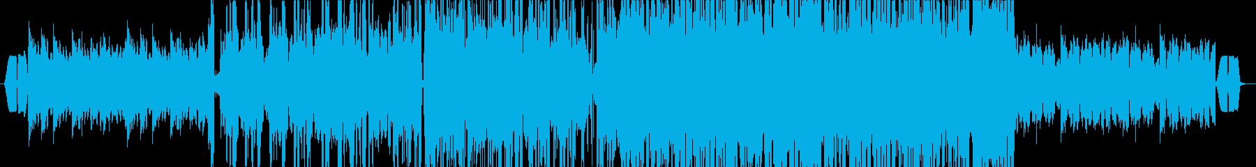 泉中央駅の再生済みの波形