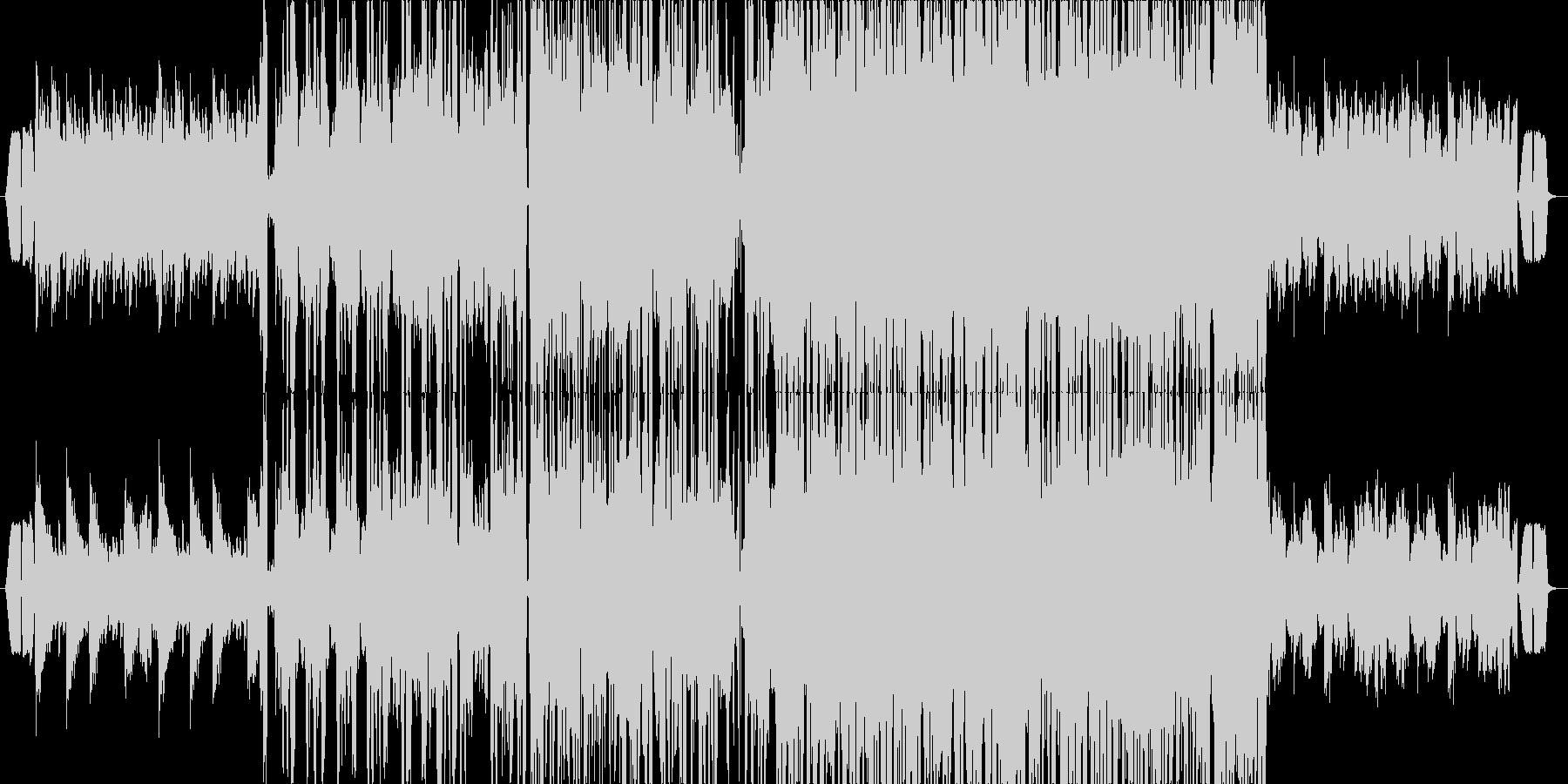 泉中央駅の未再生の波形