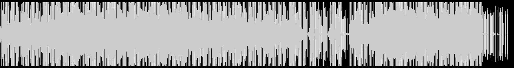 夕暮れのムーディーなチップチューンの未再生の波形