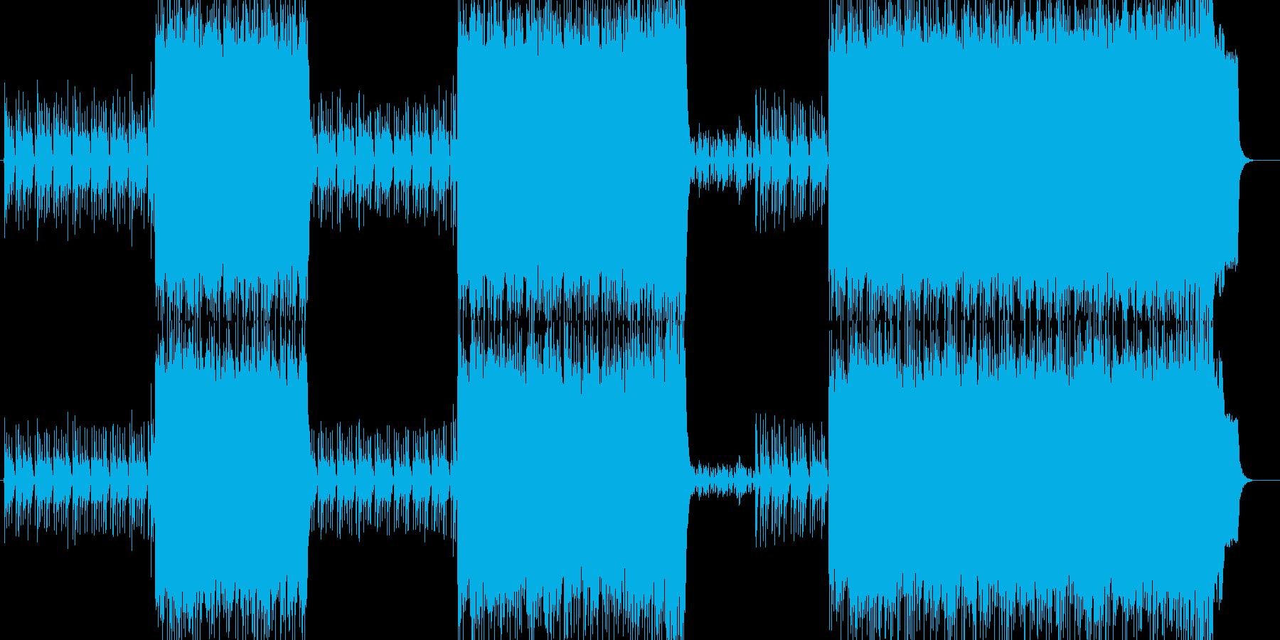 90'sオルタナロック 静→激→静→激の再生済みの波形