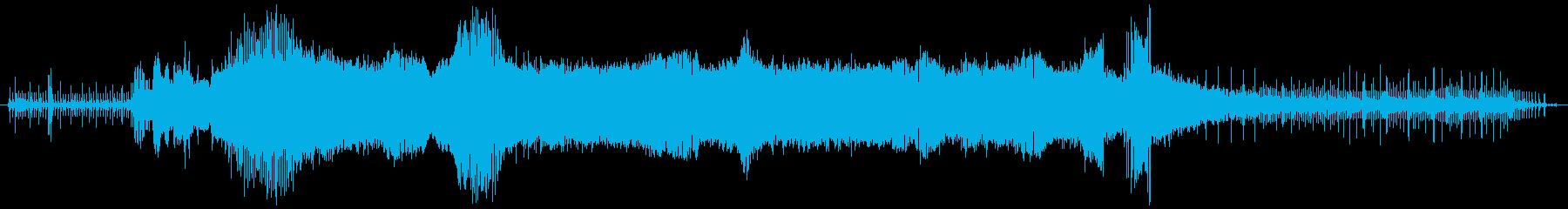 """18 """"ガスチェーンソー:開始、硬...の再生済みの波形"""