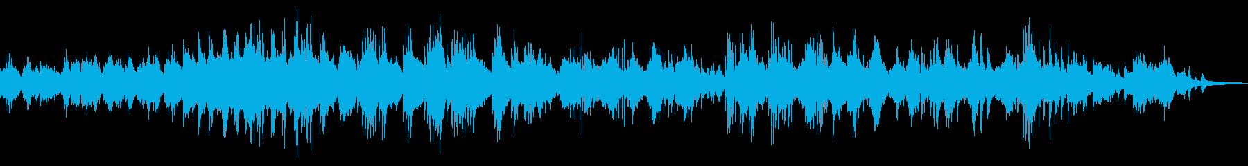 切なくドラマチックな和風ピアノソロ24の再生済みの波形