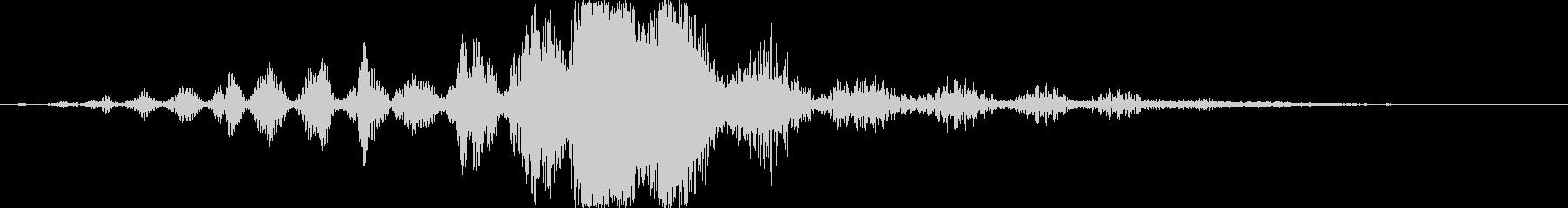 CINEMATIC WHOOSH 02の未再生の波形