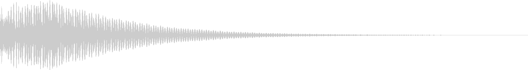 DTM Tom 13 オリジナル音源の未再生の波形